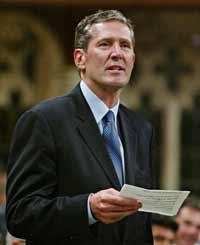 Tory MP Brian Pallister